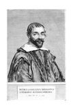 Pierre Gassendi, French Philosopher and Scientist, 17th Century Giclee Print by Claude Mellan