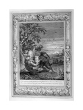 Tithonus, Aurora's Husband, Turned into a Grasshopper, 1733 Giclee Print by Bernard Picart