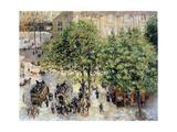Place Du Theatre-Francais, Spring, 1898 Reproduction procédé giclée par Camille Pissarro