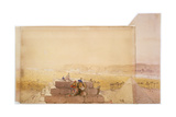Pyramids, 19th Century Giclee Print by David Roberts