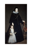 Dona Antonia Ifenarrietta and Her Son, 1631 Giclee Print by Diego Velasquez