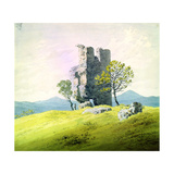 The Castle in Teplitz, Late 18th or 19th Century Giclee Print by Caspar David Friedrich