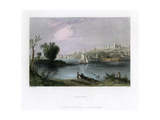 Albany, New York, USA, 1837 Giclee Print by C Cousen
