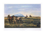 A Parley, 1834-1907 Giclee Print by  Currier & Ives