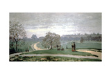 Hyde Park, London, 1871 Giclee Print by Claude Monet