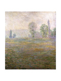 Meadows at Giverny, 1888 Giclee Print by Claude Monet