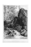 An Old English Mill, 19th Century Giclee Print by Birket Foster