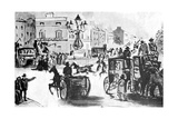The Elephant and Castle, 19th Century Giclee Print by Constantin Guys