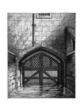 Traitors' Gate, Tower of London, 1801 Giclee Print by Charles Tomkins