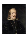 Philip IV of Spain, C1656 Giclée-Druck von Diego Velasquez