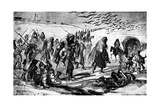 The Retreat, Crimean War, 19th Century Giclee Print by Constantin Guys