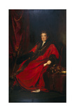 Matthias Prime Lucas, Lord Mayor 1827 and President of St. Batholomew's Hospital Giclee Print by David Wilkie