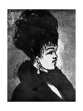 Young Woman Giclee Print by Constantin Guys