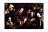 Alexander the Great Restoring the Throne Usurped by Abdolomino, 17th Century Giclee Print by Bernardo Strozzi