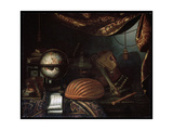 Still Life with Musical Instruments, 1715 Giclee Print by Bonaventura Bettera