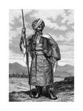 Kurdish Chief, 19th Century Giclee Print by  Deyrolle