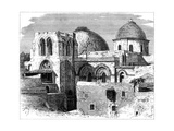 Church of the Holy Sepulchre, Jerusalem, 19th Century Giclee Print by C Maurand