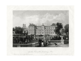 Garden-Front of the Luxembourg, Paris, France, 1875 Giclee Print by E Radclyffe