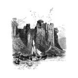 Pembroke Castle, 1930S Giclee Print by Birket Foster
