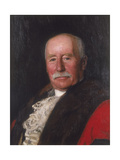 Sir Frederick Prat Alliston, C1908 Gicléetryck av Charles Haigh Wood