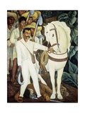 Agrarian Leader Zapata, 1931 Giclee Print by Diego Rivera