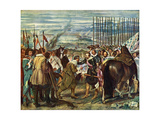 Surrender of Breda (Las Lanza), 1634-1635 Giclee Print by Diego Velazquez