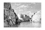 The Gorge of the Marble Rocks, India, 1895 Giclee Print by Charles Barbant