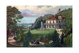 Life in the Country, Evening, 1862 Giclee Print by  Currier & Ives