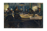 Le Repas D'Adieu, 1899 Giclee Print by Charles Cottet