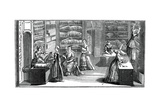 Fabric Shop Giclee Print by  Bonnardot