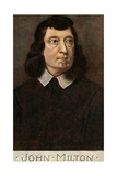 John Milton (1608-167), English Poet, Early 20th Century Giclee Print by Cw Quinnell