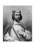 King Clotaire III of the Franks Giclee Print by  Blanchard