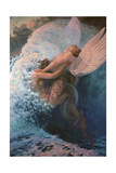 Spleen and Ideal, 1907 Giclee Print by Carlos Schwabe