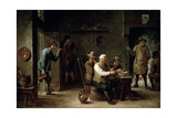 In a Tavern, 1640S Giclee Print by David Teniers the Younger