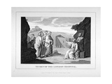 Ticket for the London Hospital Showing Christ and the Disciples, C1825 Giclee Print by Charles Grignion