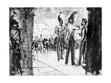Group of Soldiers Giclee Print by Constantin Guys