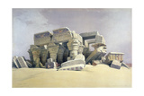 Ruins of the Temple of Kom Ombo, 19th Century Giclée-Druck von David Roberts