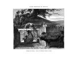 Abattoir, Uruguay, 19th Century Giclee Print by D Maillard