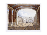 London and Birmingham Railway, 1837 Giclee Print by Charles Hunt