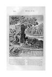 River Meles, 1615 Giclee Print by Bernard Picart