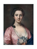 Mrs Ballack, Late 18th-Early 19th Century Giclee Print by Daniel Gardner