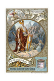 Odin, 1890-1910 Giclee Print by  Delitz