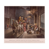 General Post Office, Lombard Street, London, 1827 Giclee Print by Charles Hunt