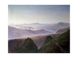 Morning in the Mountains, before 1823 Giclee Print by Caspar David Friedrich