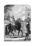 The Riding Lesson Giclee Print by  Bonnardot