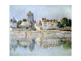 By the River at Vernon, 1883 Giclee Print by Claude Monet