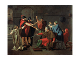 The Oath of the Horatii, 1791 Giclee Print by Armand Charles Caraffe