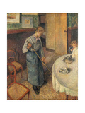 The Young Servant, 1882 Giclee Print by Camille Pissarro