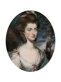 Lady Charlotte Hill, Countess Talbot, 18th Century Giclee Print by Daniel Gardner