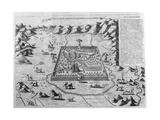 The Terrestrial Paradise, 1675 Giclee Print by Athanasius Kircher